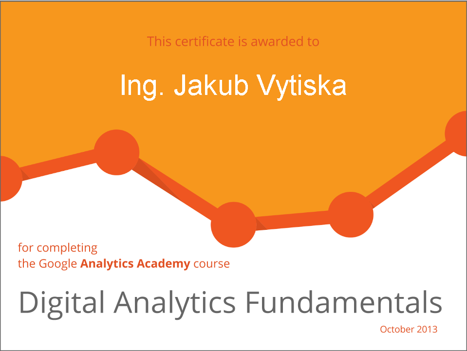Google Digital Analytics