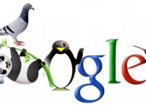 Google Panda, Penguin, Hummingbird, Pigeon – rozdíly
