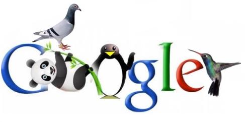 Penguin-Panda-Hummingbird-Pigeon