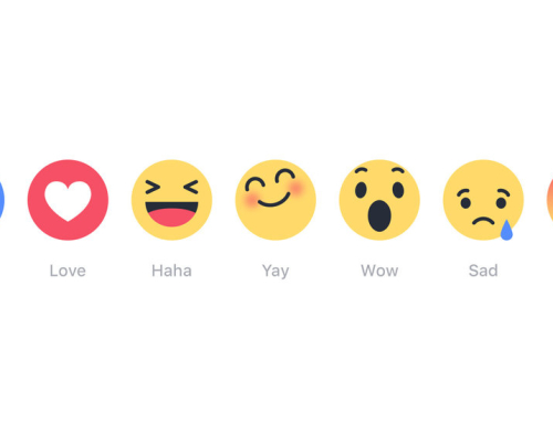 Facebook ikony reakcí (reactions icon)